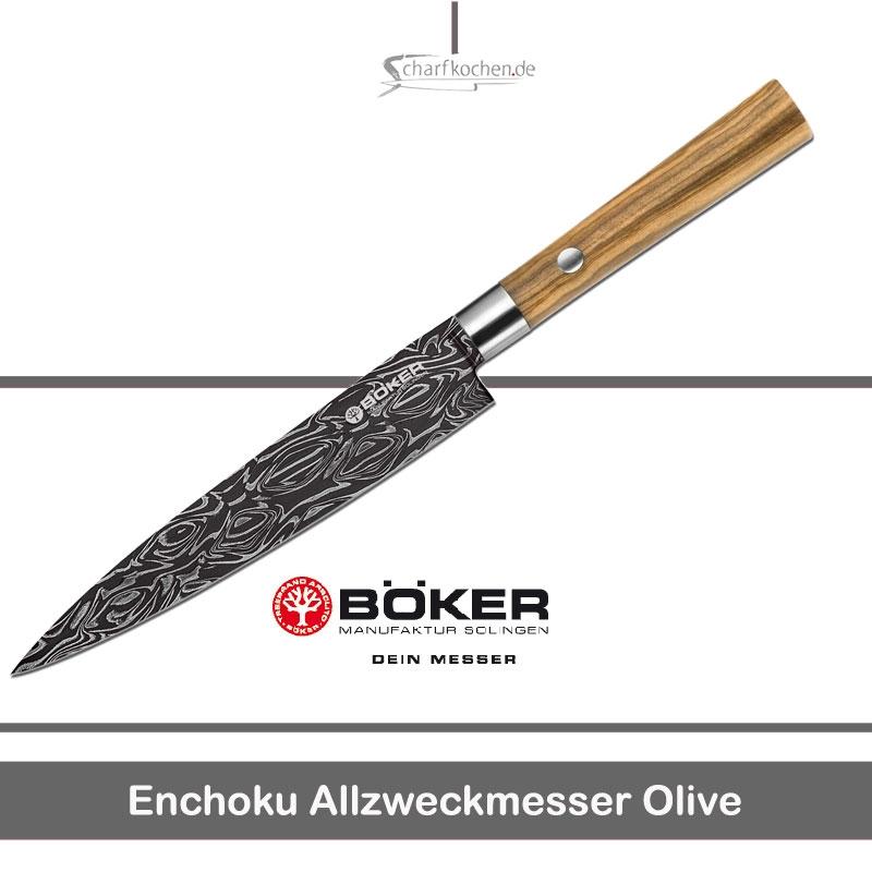 Böker Enchoku Allzweckmesser Olive