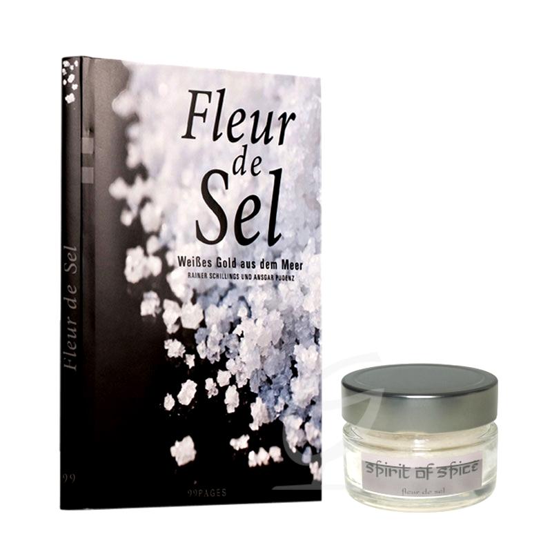 Fleur de Sel Geschenkset, Buch +Salz