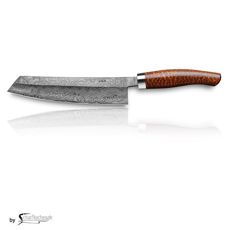 Nesmuk C100 Voll Damastmesser / Griff: Schlangenholz