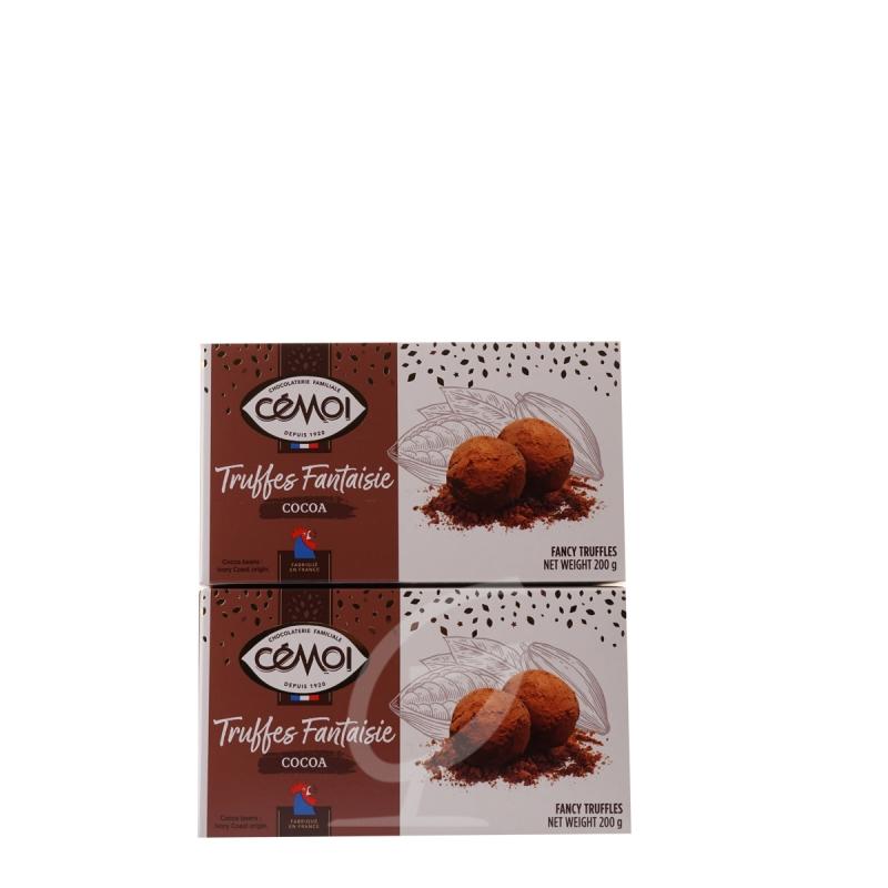 Schokoladentrüffel Truffes Fantaisie Cemoi 2 Packungen (neue Verpackung)