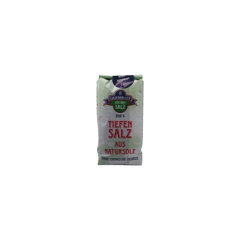 Salinen-Salz fein, Inhalt: 500gr.