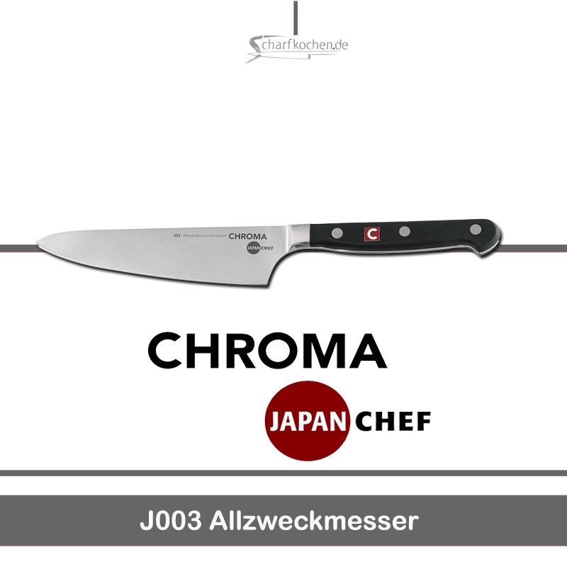Allzweckmesser / Chroma Japanschef J003