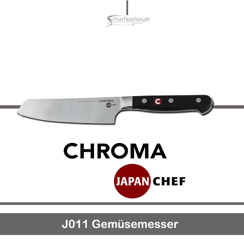 Gemüse Messer / Chroma Japan Chef J011