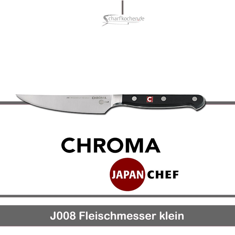 kleines fleischmesser chroma japan chef messer online shop. Black Bedroom Furniture Sets. Home Design Ideas
