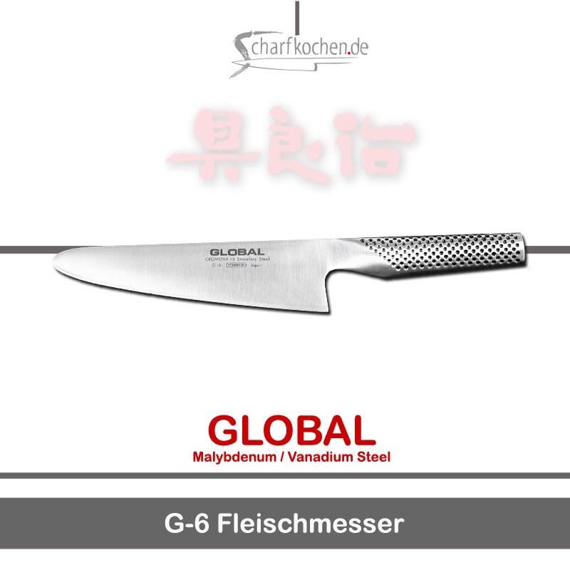 Global Messer: G-06 Fleisch-Allesschneider
