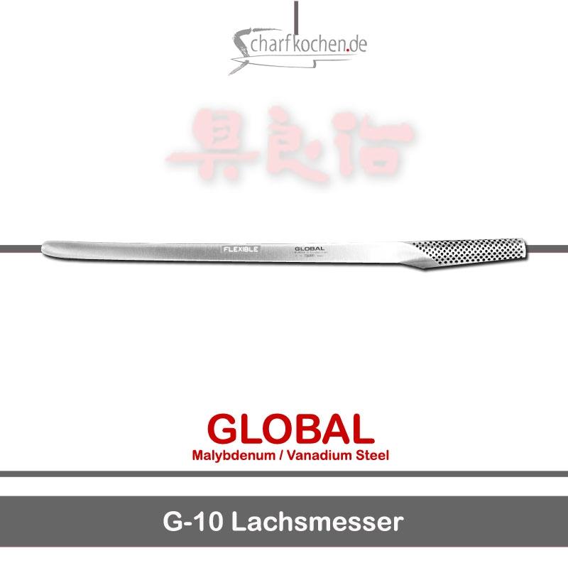 Global Messer: G-10 Lachsmesser