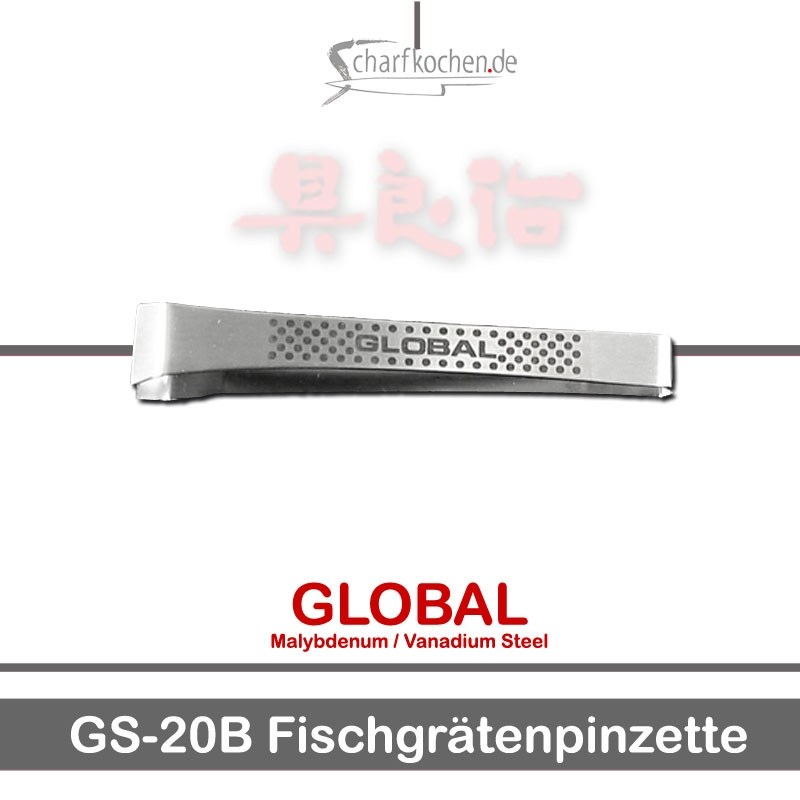 Global Messer: GS-20B Fischgrätenpinzette, trad. Japanform