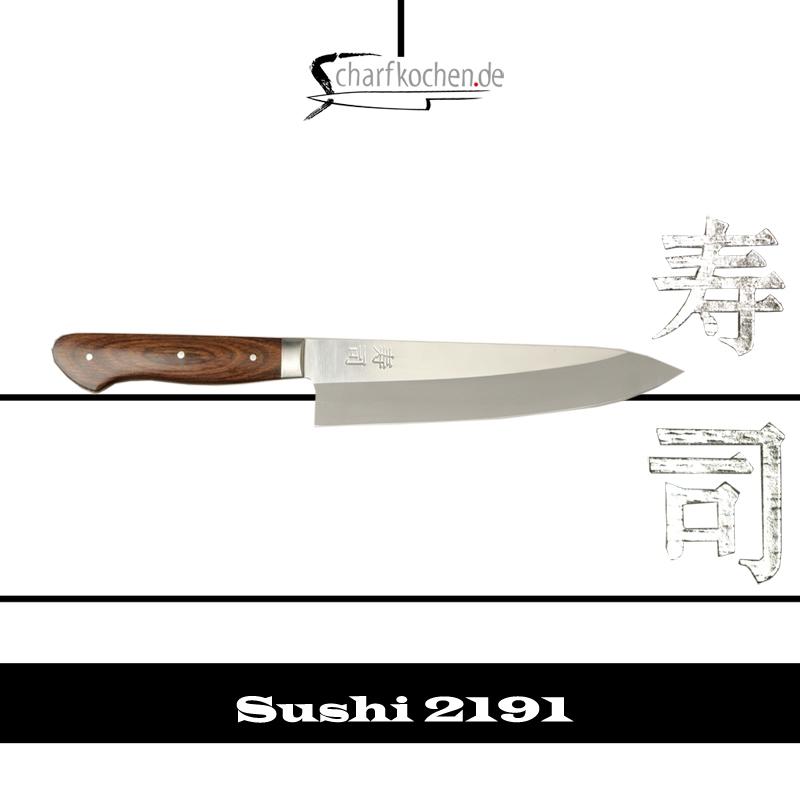 Koch-Messer klein  Länge 24cm Zweibrüder