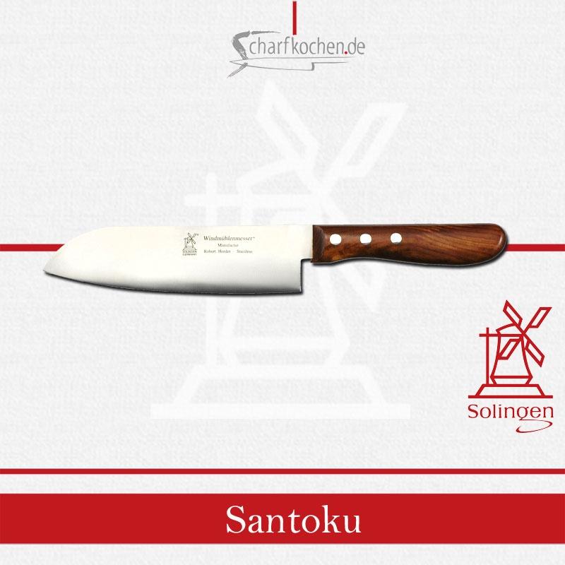 Santoku (drei Tugenden) Windmühle für Fisch, Fleisch und Gemüse