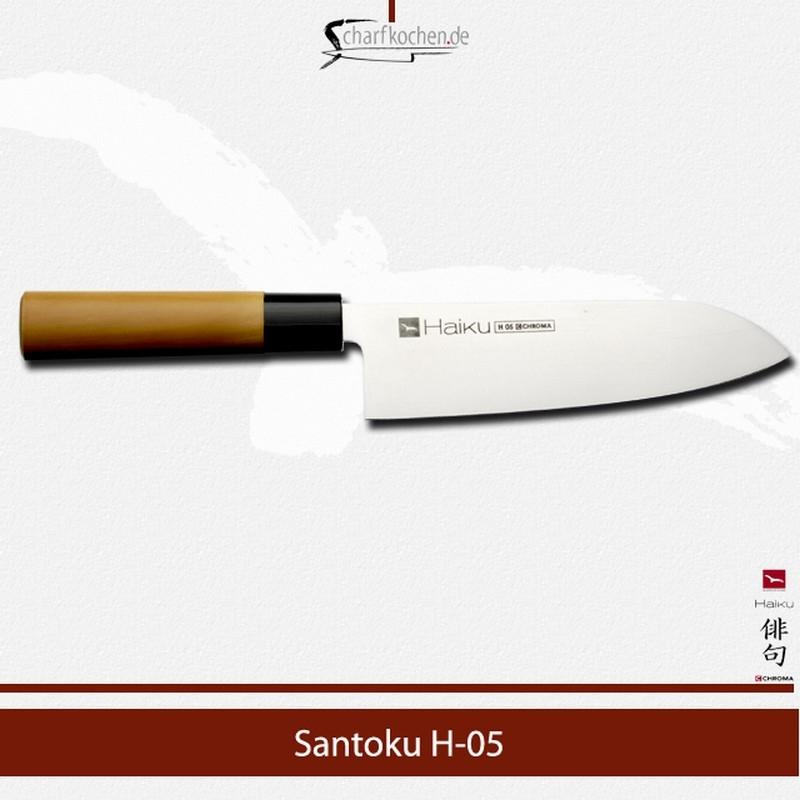 H-05 CHROMA Haiku Gemüsemesser Santoku 17 cm