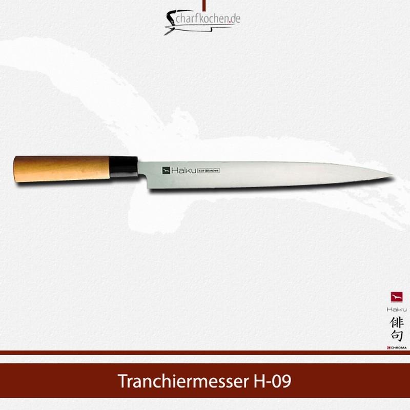 H-09 CHROMA Haiku Yanagi-Tranchiermesser 26 cm
