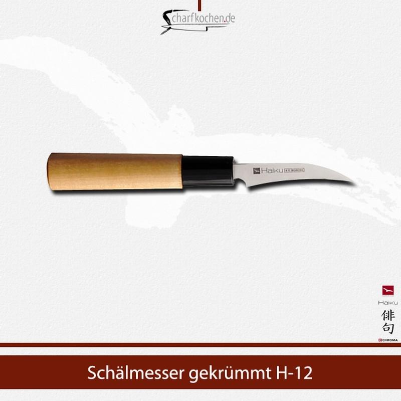 H-12 CHROMA Haiku Schälmesser 7 cm