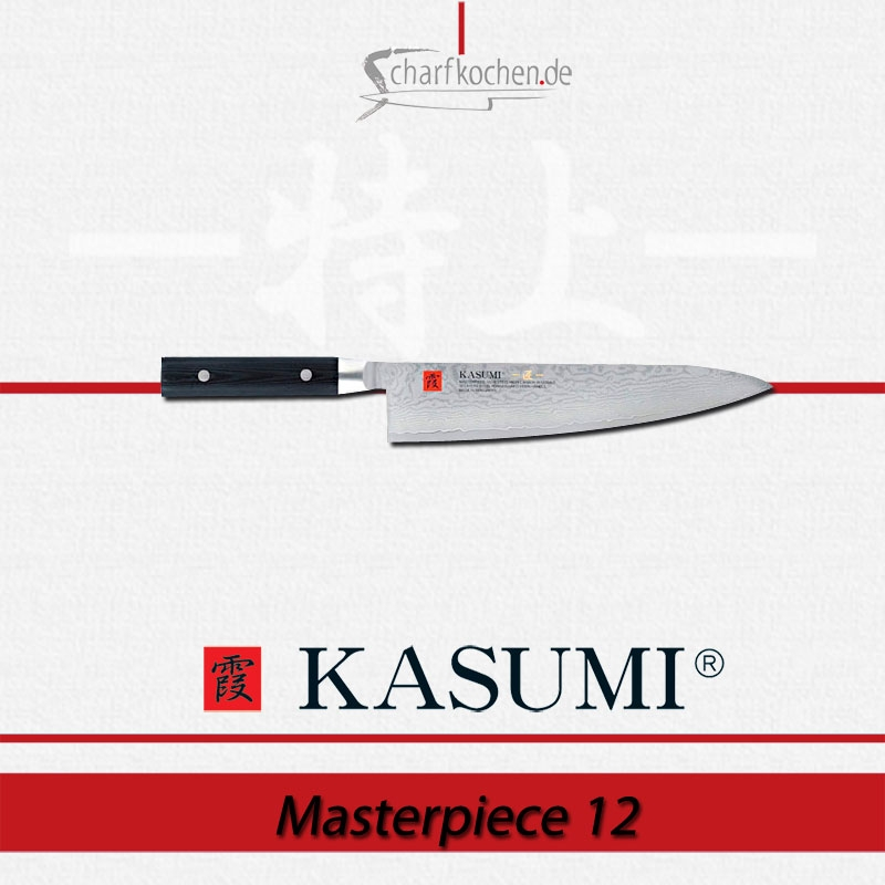 MP12 KASUMI Masterpiece Kochmesser, 24 cm