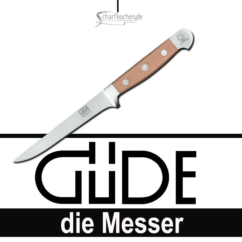 Güde Messer Alpha Birne Ausbeinmesser flexibel B703/13