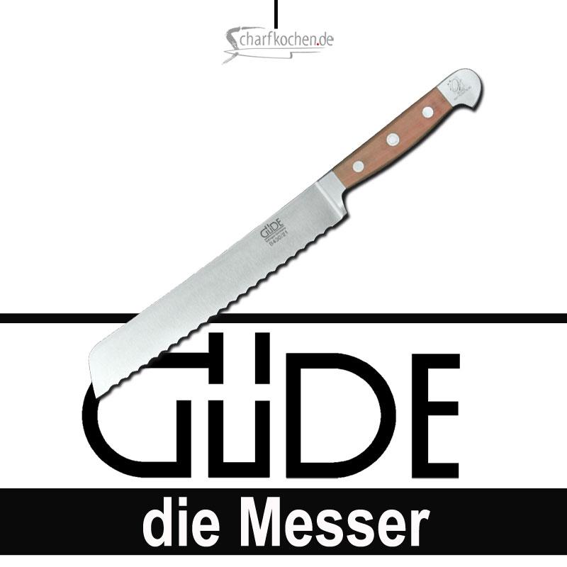 Güde Messer Alpha Birne Brotmesser B430/21