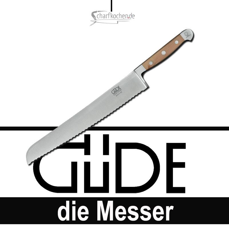 Güde Kochmesser Alpha Birne Brotmesser