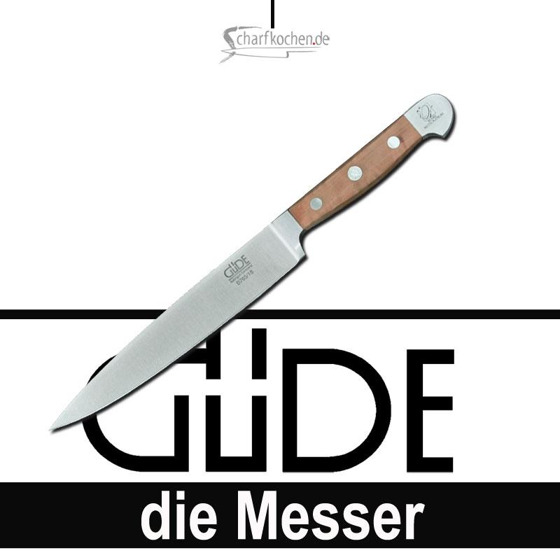 Güde Messer Alpha Birne Filiermesser flexibel B765/18