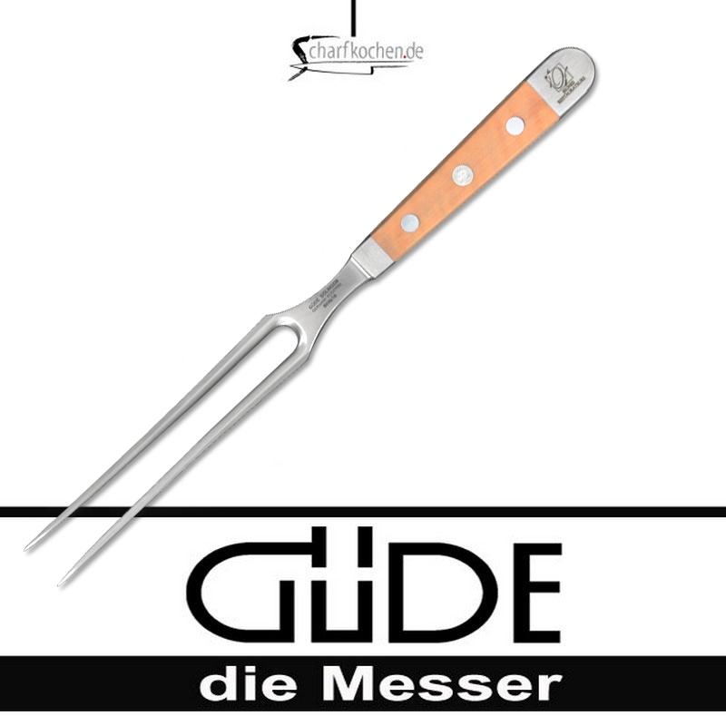 Güde Messer Alpha Birne Fleischgabel B096/18