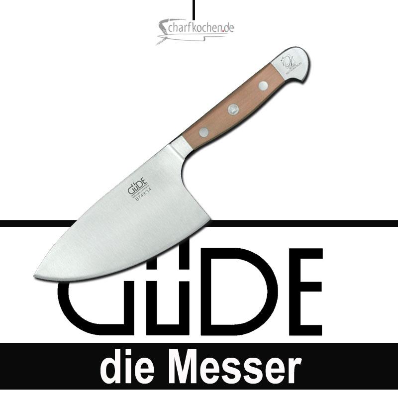 Güde Messer Alpha Birne Kräutermesser