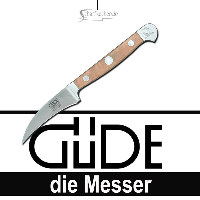 Güde Messer Alpha Birne Schälmesser B703/06