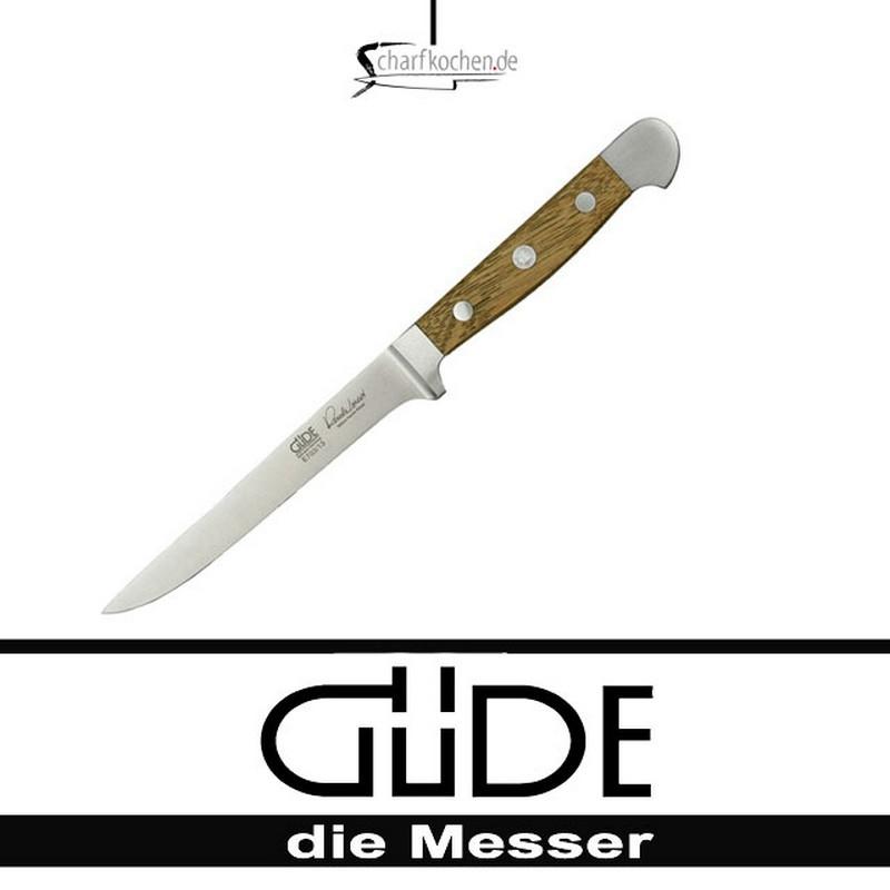 Güde Messer Alpha Faßeiche Ausbeinmesser flexibel E703/13