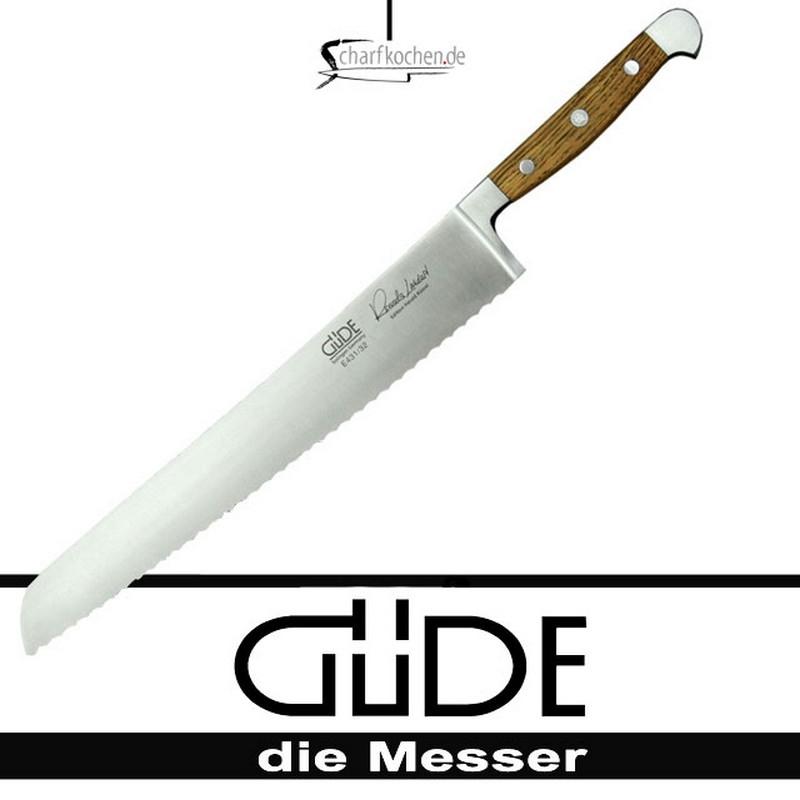 Güde Messer Alpha Faßeiche Brotmesser