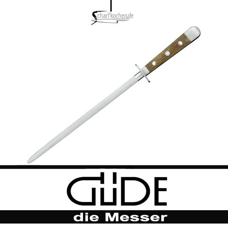 Güde Messer Alpha Fasseiche Wetzstahl