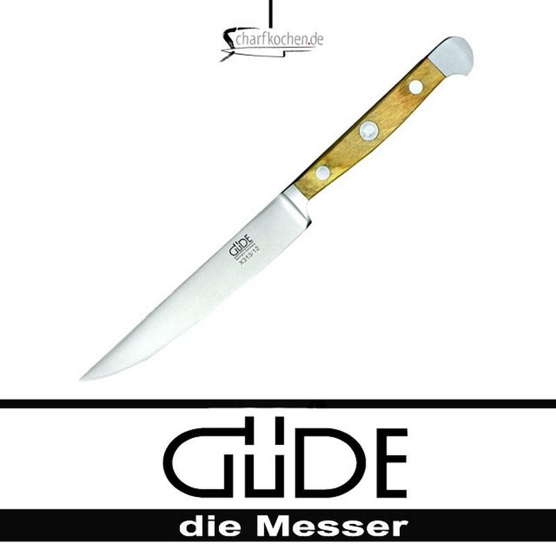 Güdemesser-Alpha Olive Steakmesser X313/12