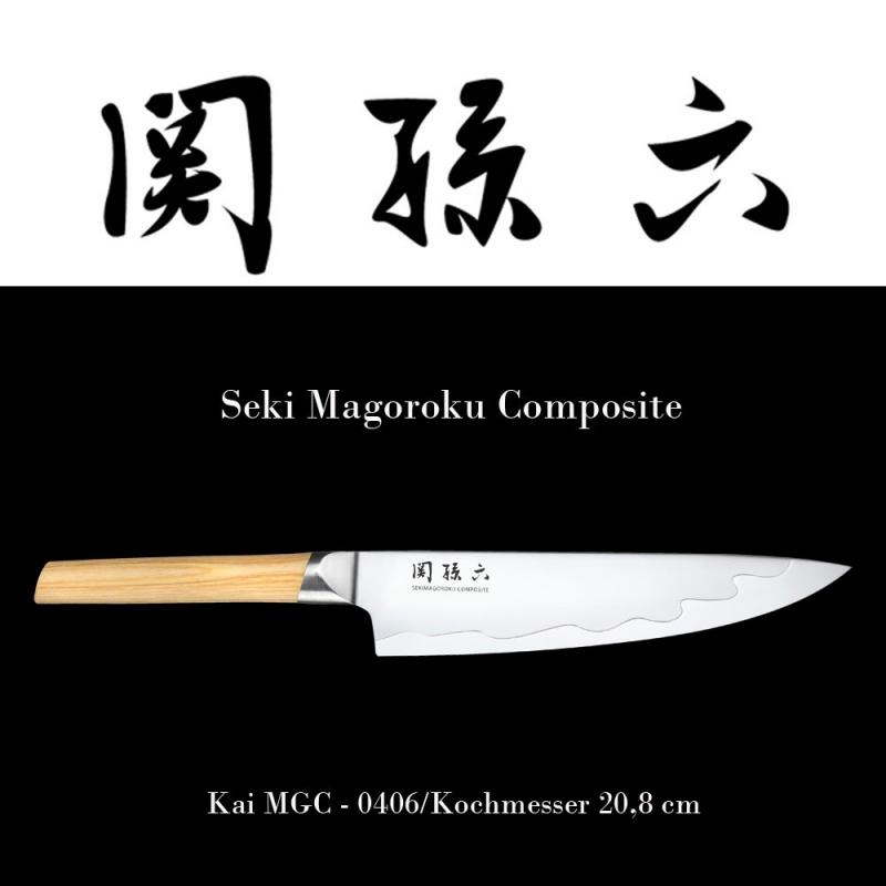 KAI Seki Magoroku Composite Kochmesser MGC-0406