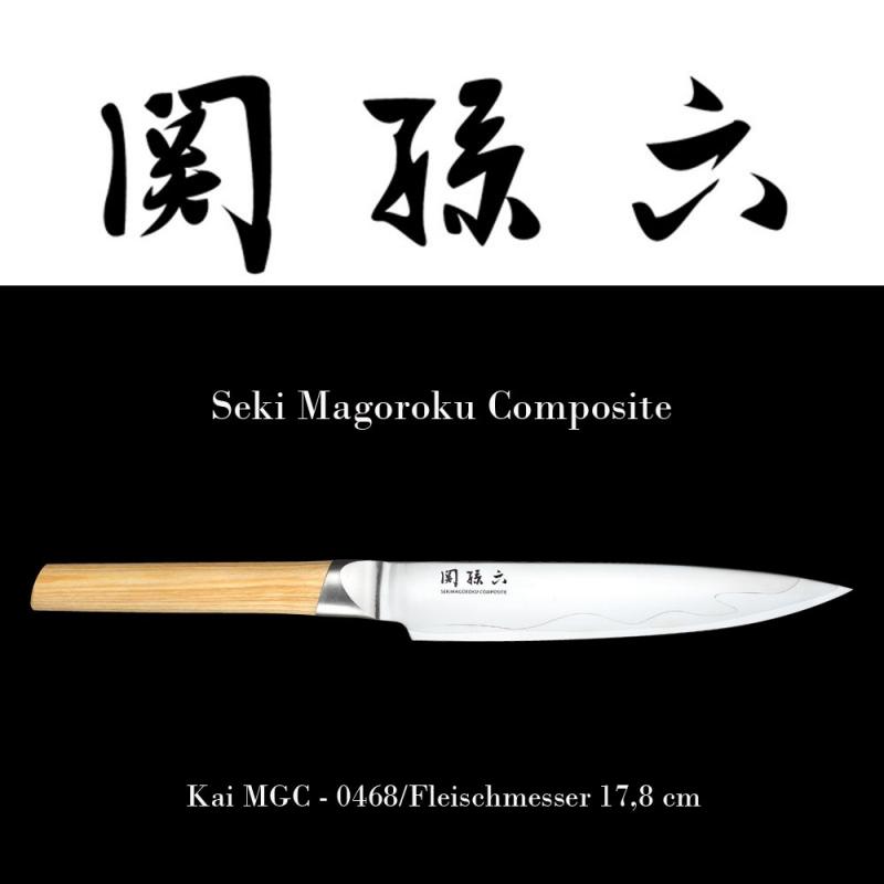 KAI Seki Magoroku Composite Fleischmesser MGC-0468