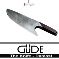 THE KNIFE Damast von GÜDE