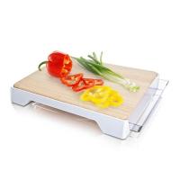 Schneidbrett - Tomorrow`s Kitchen, Kunststoff/Bambus weiß