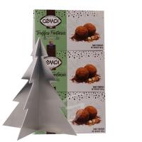 Schokoladentrüffel Truffes Fantaisie Almond Cemoi 3 Packungen (neue Verpackung) inkl. Edelstahl Baum