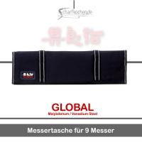 Global Messer: G-666/09 Messertasche für 9 Messer