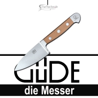 Güde Messer Alpha Birne Käsemesser für Hartkäse B805/10