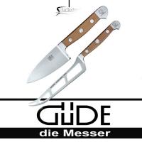Güde Kochmesser Alpha Birne Käsemesser Set 2 tlg.