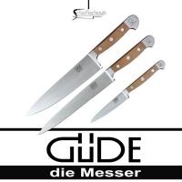 Güde Kochmesser Alpha Birne Kochmesser Set 3 tlg.