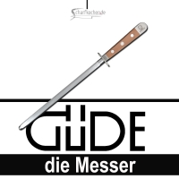 Güde Messer Alpha Birne Wetzstahl B055/26