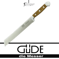 Güde Messer Alpha Faßeiche Brotmesser E430/21