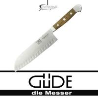 Güde Messer Alpha Fasseiche Santokumesser mit Kulle E546/18