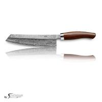 Nesmuk C100 Voll Damastmesser / Griff: Cocobolo inkl. Tödlich gut Kochbuch