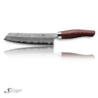 Nesmuk EXKLUSIV C150 Damast mit Schneidlage/Griff: Micarta Red