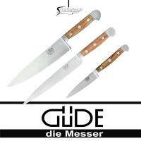 Güdemesser-Alpha Olive Messerset 3tlg 3-X000
