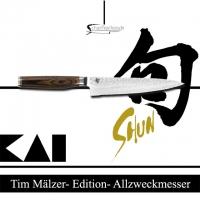 Kai Allzweckmesser mit Wellenschliff TDM 1722